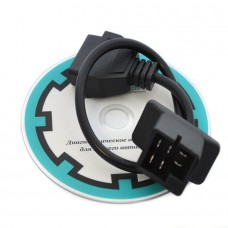 Переходник Chrysler 6 pin на OBD II 16 pin