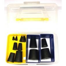 Комплект конусных пробок (заглушек) для дымогенератора